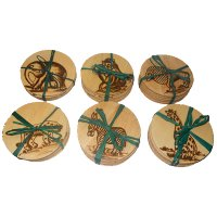 Pack of 6 Mixed Coasters - 456