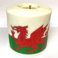 Dragon Pillar Candle - 600/Draig