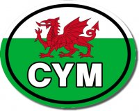3 'CYM' Colour Bumper Stickers