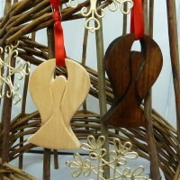 Angel of the Valleys Christmas Decorations (pair) - 650