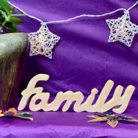 Family - Freestanding in wood