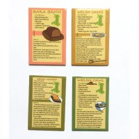 Welsh Recipes Magnets - Pack of 4 Magnets