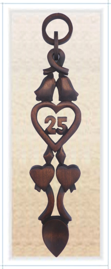 Chain of Love 25th Anniversary Spoon - 020a