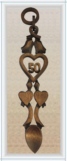 Chain of Love 50th Anniversary Spoon - 023a
