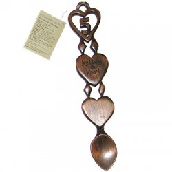 Elegant 5th Anniversary Love Spoon - 018a