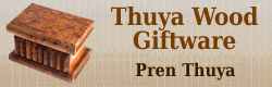 Thuya Wood Gifts