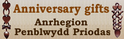 Welsh Love Spoons Anniversary Gifts