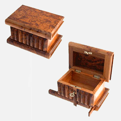 Magic Box - 100 - Fair Trade Gifts in Thuya Wood